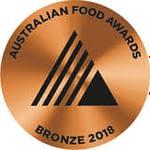 Food Awards Bronze 2018